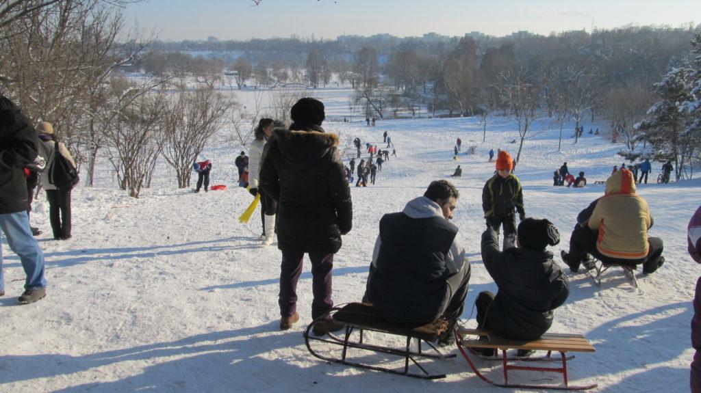 Cele mai reușite pârtii pentru săniuș din București