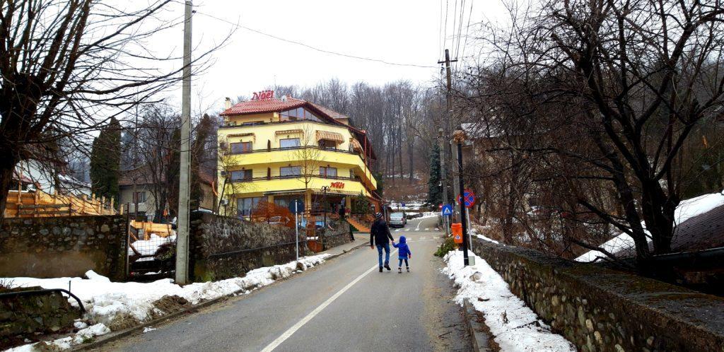 Cu copiii la Băile Olănești