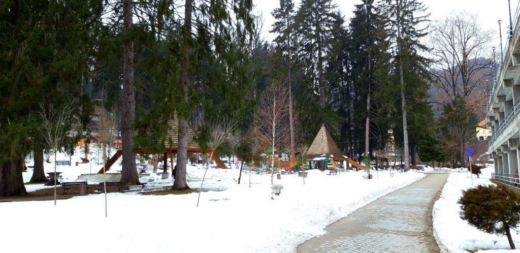Vacanță cu familia la Băile Olănești