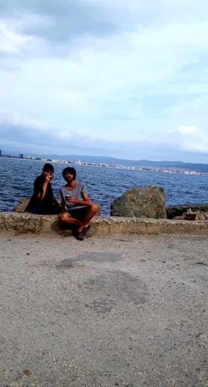 Cu copilul in Nessebar